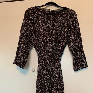 RW&CO black and light pink dress, never worn. NWOT